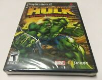 Incredible Hulk: Ultimate Destruction (Sony PlayStation 2, 2005) PS2 NEW