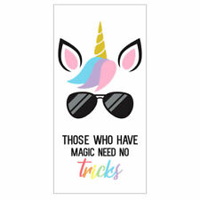 Unicorn Magic Tricks Adult Size Bath Beach Holiday Swim Quick Easy-Dry Towel