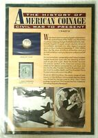 American Historic Society Coinage UNC Mercury Dime Freedom Stamp WWII 1940's NEW