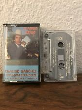 Chalino Sanchez con Banda Sinaloense La Flor Del Campo bootleg cassette tape
