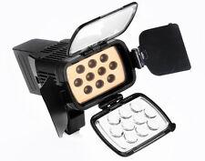 FARETTO  FOTO/VIDEO LED-VL001-B 10 LED Con BORSA pe r Nikon  Canon  Pentax