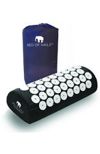 Bed Of Nails Acupressure Mat and Pillow- Black