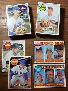 Vintage 1969 topps baseball lot. 51 Cards. Cond Varies. Joe Niekro. Rookies.