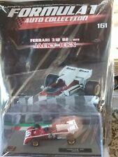 FERRARI 312 B2 1972 JACKY ICKX FORMULA 1 AUTO COLLECTION  #161 1:43 MIB DIE-CAST