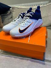 2019 Nike Lunar Domain 2 Audacity Cricket Shoe / Boot / Spike Blue Orange Sz 11