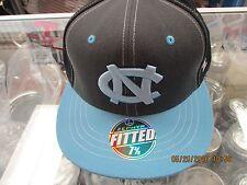 sports shoes 3e3e3 d2dc9 NORTH CAROLINA TARHEELS-BLACK GRAY CAP-BLUE FLAT BILL-