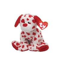 TY Beanie Babies 32132 Pluffies Baby Safe Cuori Dog