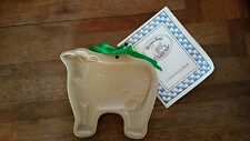 BROWN BAG COOKIE ART COW COOKIE MOLD With Recipe Book - DATED 1986 ,