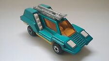 1975 Matchbox Superfast #68 Cosmobile Very Good Lesney England Turquoise