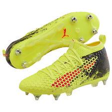 Puma Herren Fußballschuhe Future 18.2 NETFIX Mx SG Fußball gelb 104319 01
