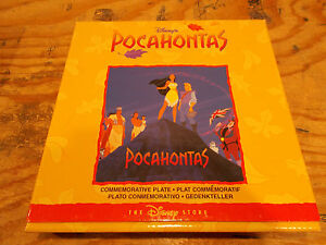 Disney's Pocahontas Commemorative Plate