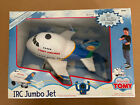 TOMY Airlines 1999 Working JUMBO JET With Remote Control Lights VERY RARE