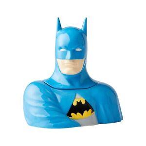 Enesco DC Comics Ceramics Batman Cookie Jar Canister 10.75 Inch