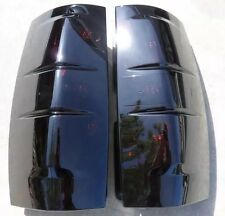 07-14 Tahoe/Suburban Smoked Tail Lights Tinted OEM non led black painted 🔥