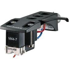 Technics Headshell and Shure M-44-7-H cartridge/Stylus Black