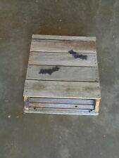 Bat Houses Nesting Box 100% Natural Reclamed Silver Weathered Lumber Made In Usa