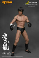 Movie Bruce Lee Jeet Kune Do 1/12 Statue Action Figure Gift 7.4 inches Ornament