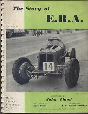 Story of ERA Motor Racing Scrapbook  No. 3  including Maserati & Delage
