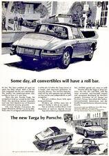 1968 Porsche Targa - Promotional Advertising Poster