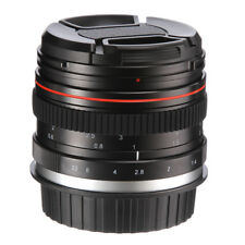 50mm f1.4 Manual Focus MF Full frame Prime Lens for Sony NEX E A9 A7 A7S A7R II