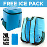 20L 30L COOLING BACKPACK COOLER BAG ICE BOX TRAVEL FOOD PICNIC CAMPING RUCKSACK