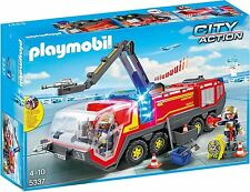 PLAYMOBIL City Action 5337 Flughafenlöschfahrzeug mit Licht und Sound
