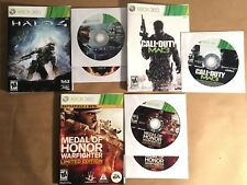 Halo 4 Call of Duty Modern Warfare 3 Medal of Honor (Xbox 360) Bundle Lot