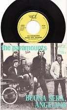 """THE PARAMOUNTS - BUONA SERA, ANGELINA Ultrarare 1975 german 7"""" P/S Single!"""