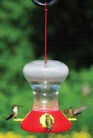 Fliteline 30 oz. HUMMINGBIRD FEEDER with 3 BEE REPELLENT NECTAR STATIONS