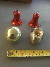 Vintage Glass Christmas Tree Decorations