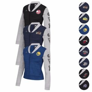 NBA Adidas On-Court Full Zip Track Jacket w/ Patches Jacket Women's
