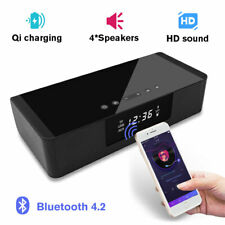 TV Sound Bar Home Subwoofer Stereo Soundbar With Bluetooth Wireless Alarm Clock