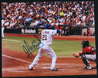 Alcides Escobar Milwaukee Brewers Baseball Autographed Signed 8x10 Color Photo