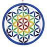 FLOWER OF LIFE  SUNCATCHER FAIR TRADE RESIN MEDITATION REIKI HEALING NEW AGE