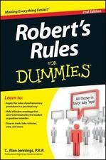 Robert's Rules For Dummies-ExLibrary