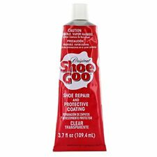 Shoe Goo Repair Adhesive for Fixing Worn Shoes Boots, Clear, 3.7-Ounce Tube