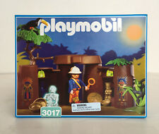 Playmobil 3017 Jungle Treasure Cave with Explorer,Skeleton - MIB Retired 1998