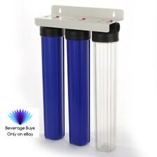 """20"""" 3 Stage Whole House Hard Water Softener Filter System, High Quality  3/4"""""""