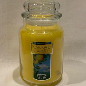 Yankee Candle Original Classic Large Jar Single Wick Candle 22 oz Rare You Pick