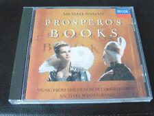 MICHAEL NYMAN - PROSPERO'S BOOKS - SOUNDTRACK - 1991CD