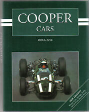 Cooper Cars by Doug Nye New Edition Pub. 2003 inc Cooper Bristols Mini Cooper +