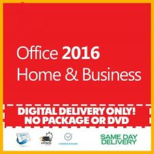 Office 2016 Home and Business Product Key 🔐 Activation License ⭐