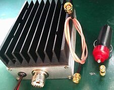 25W 400MHz-470MHz UHF Ham Radio Power Amplifier transceiver 12V Interphone CAR