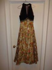 Robes vintage en velours pour femme