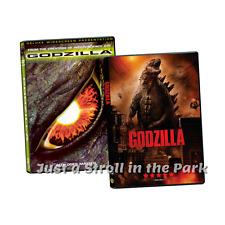 Godzilla: Original + Remake Sci-Fi Thriller Movie Collection Box/DVD Set(s) NEW!