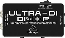 New Behringer Ultra-DI DI400P Direct box Buy it Now! Make Offer! Auth Dealer!