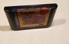 Barney's Hide & Seek Game Sega Genesis VIDEO GAME CART AUTHENTIC