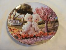 Love One Another Precious Moments Collector Plate Sam Butcher (H1)