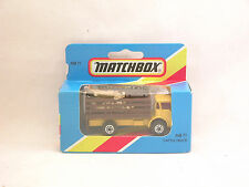 Matchbox Superfast MB71 camion transport de bétail  Cattle truck neuf/b. (#A25)