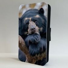 Black Bear Nature Wild FLIP PHONE CASE COVER for IPHONE SAMSUNG